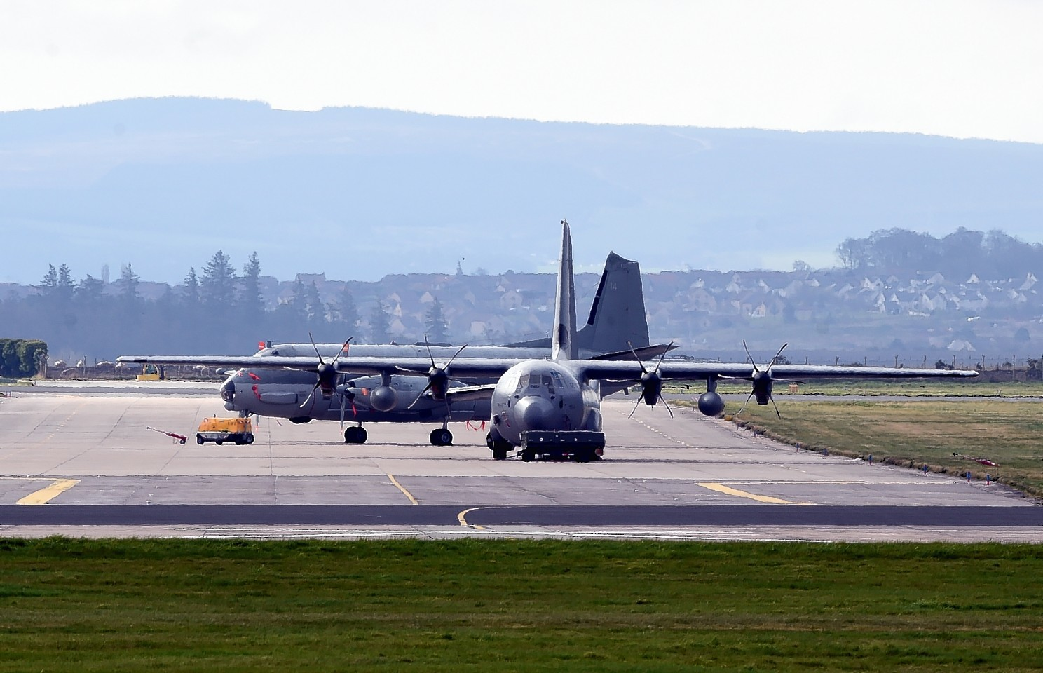 Operation Joint Warrior at RAF Lossiemouth
