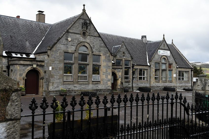 Mortlach Primary School, Dufftown. Picture by Gordon Lennox