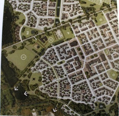 The development will see about 2500 homes built