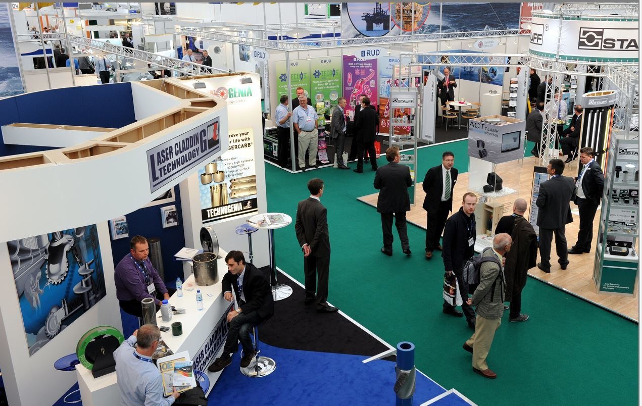 Offshore Europe is held in Aberdeen every two years