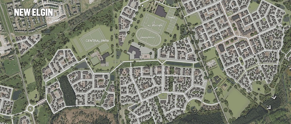 The ambitious 30-year proposal will be phased in by creating three distinct villages.