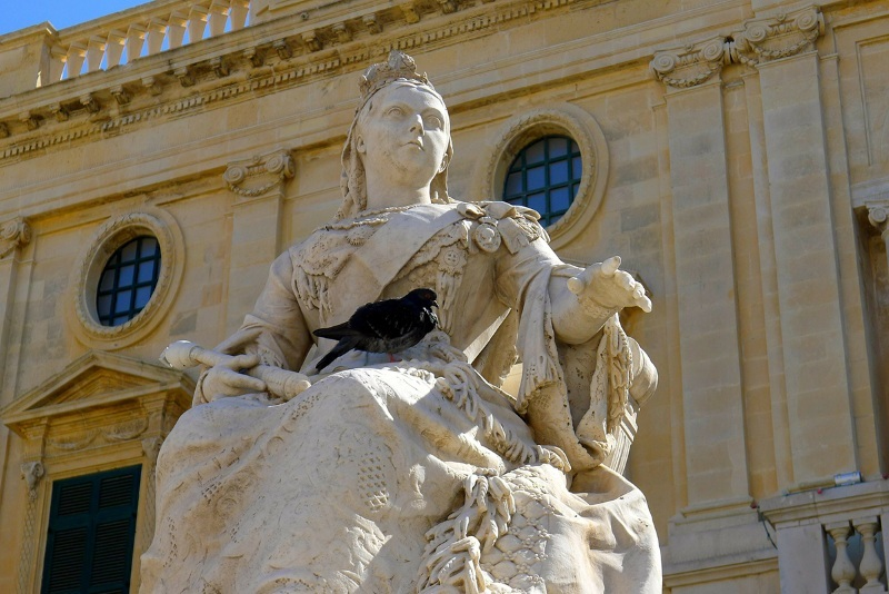 Queen Victoria monument, Valletta