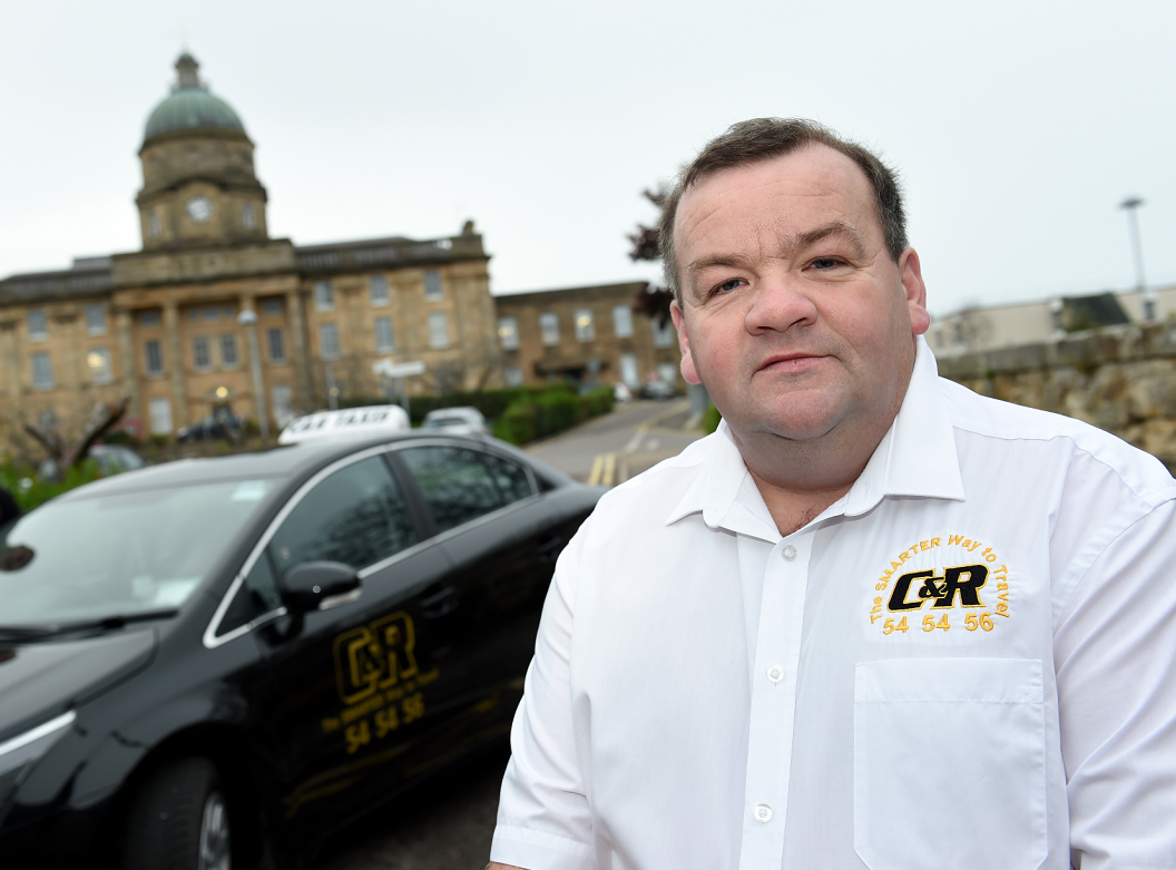 Taxi business owner Rod McLennan fears his firm could be hit by increased licence fee charges.