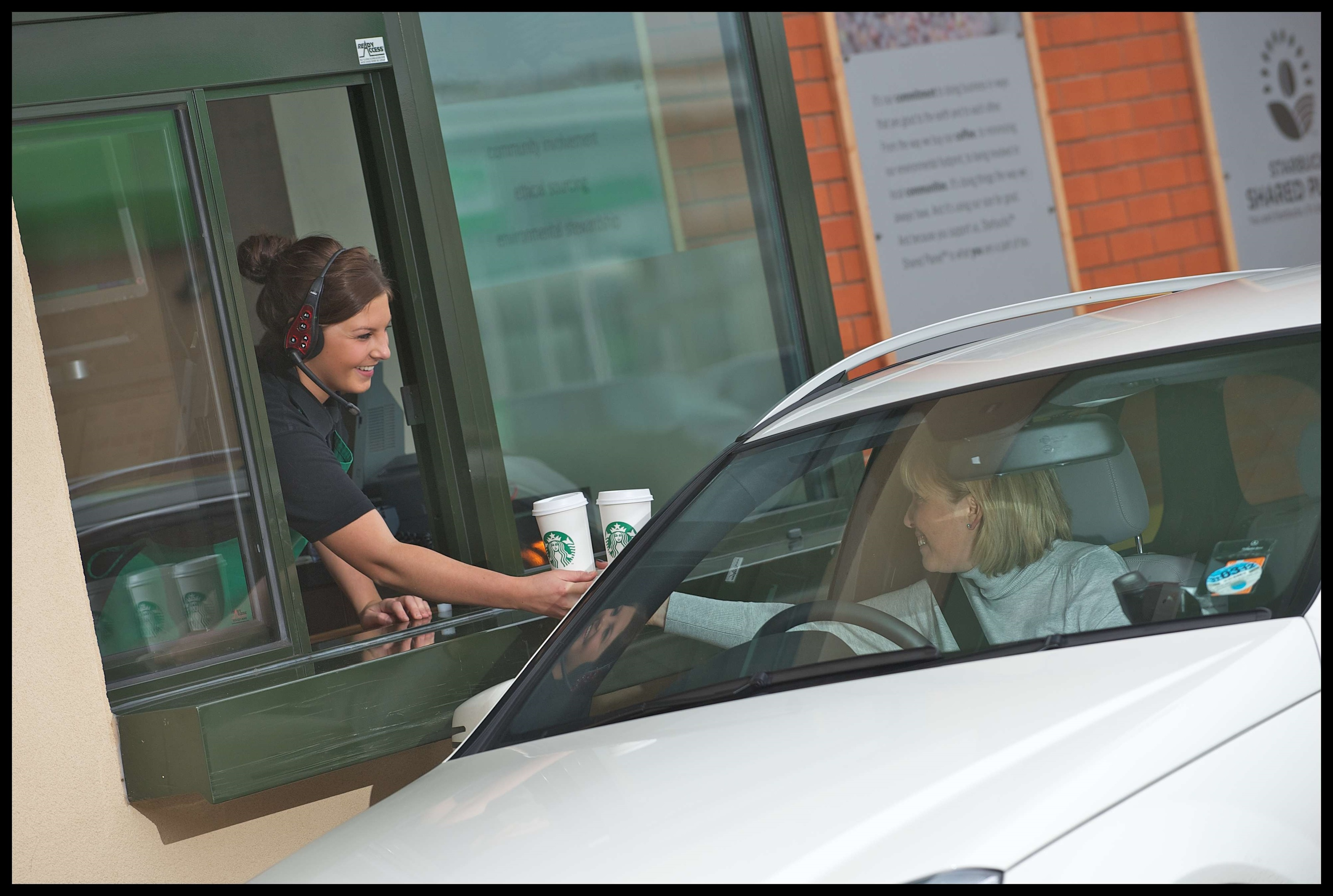 Plans for a drive-thru Starbucks have been unveiled.