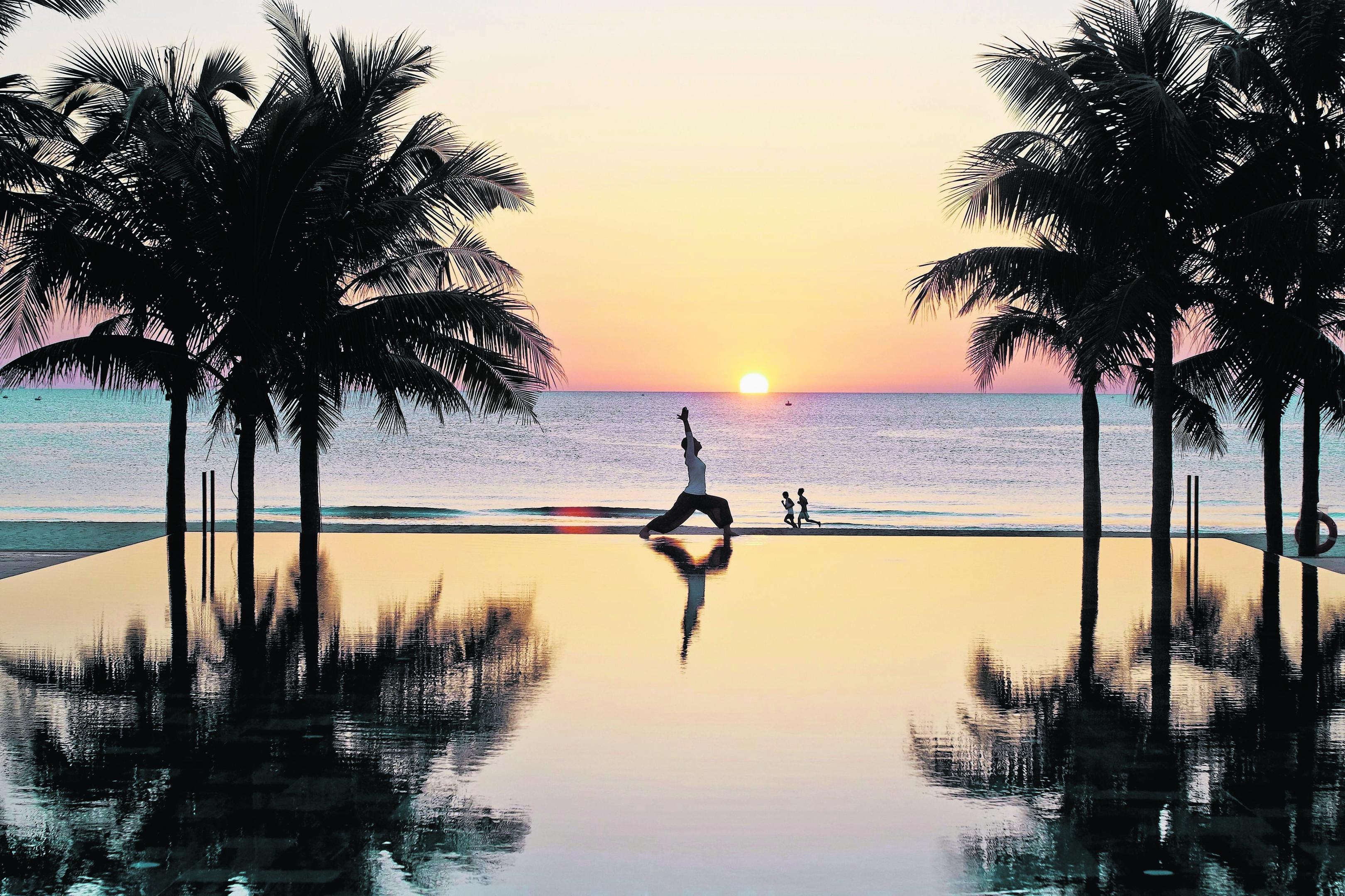 The Fusion Maia Danang resort.