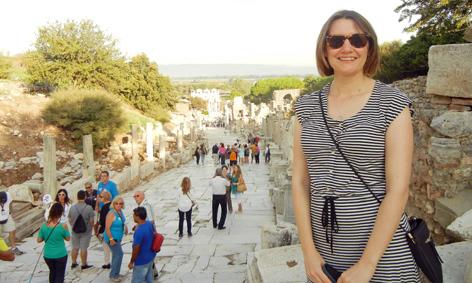 Keeley at Ephesus