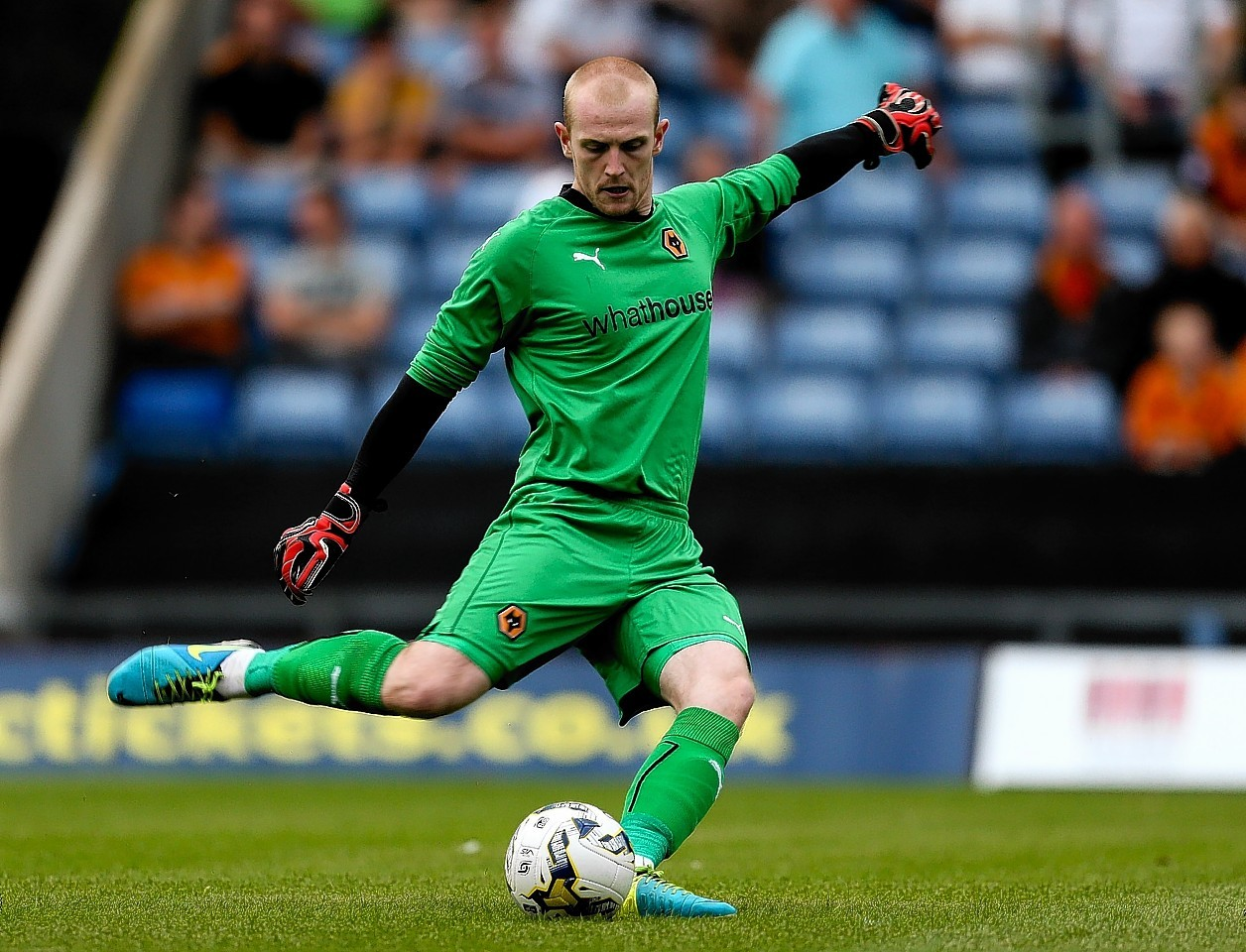 Aaron McCarey has made just two appearances for Ross County since joining from Wolves.