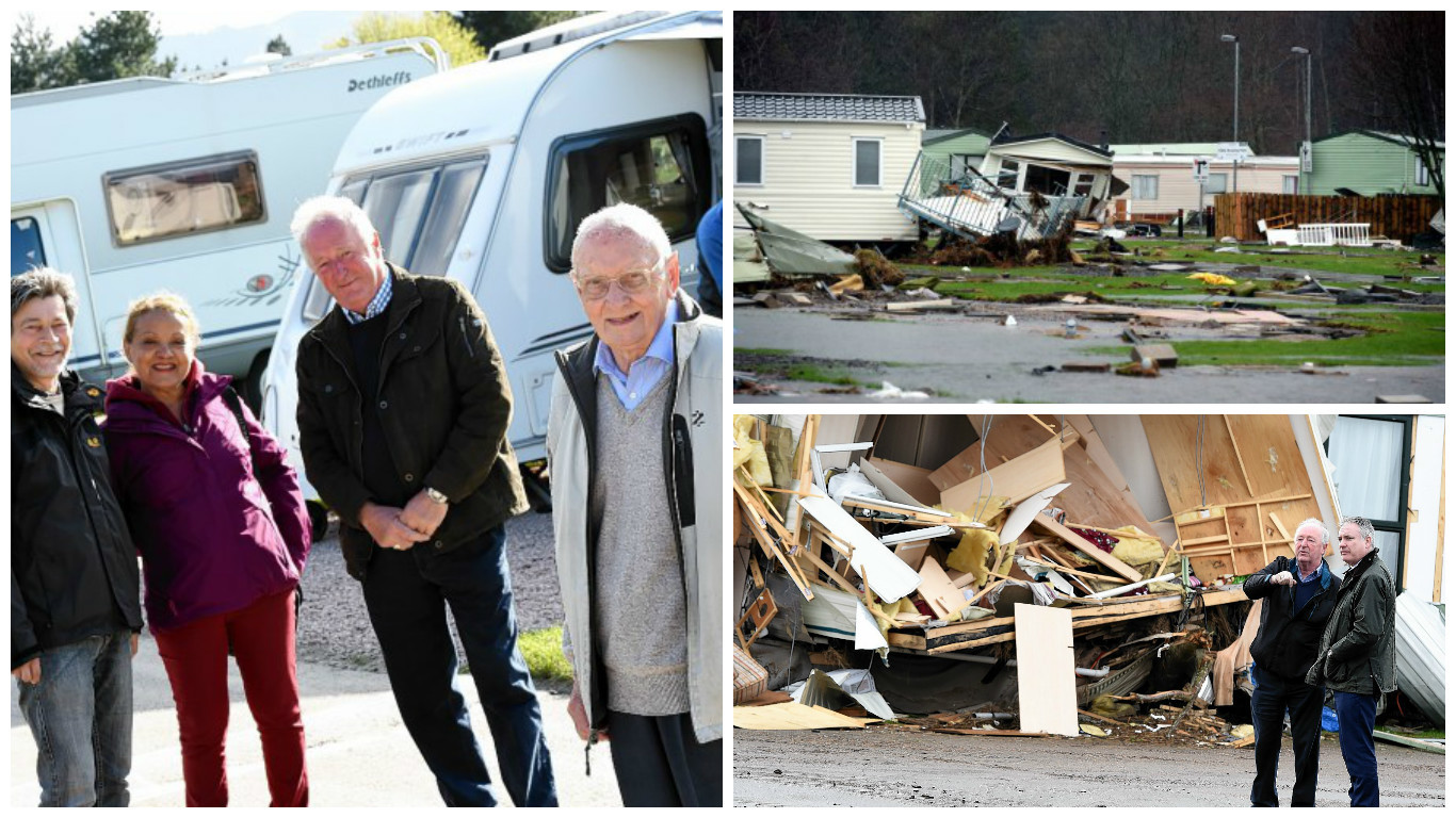 Ballater Caravan Park has officially reopened