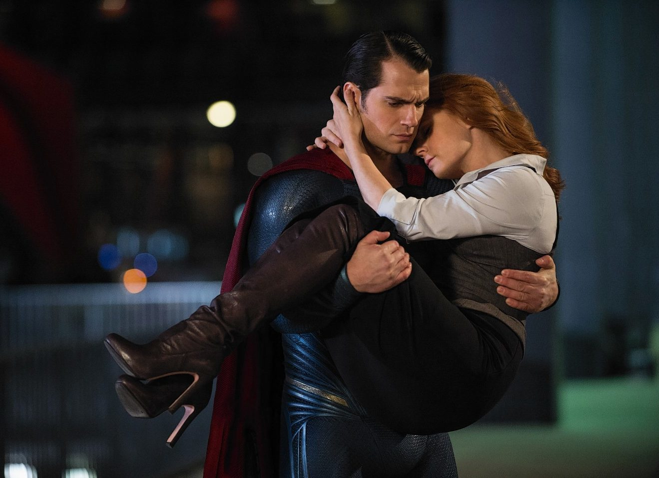 Enjoying the acting of Amy Adams as Lois Lane and Henry Cavill as Clark Kent/Superman wasn't enough for one couple