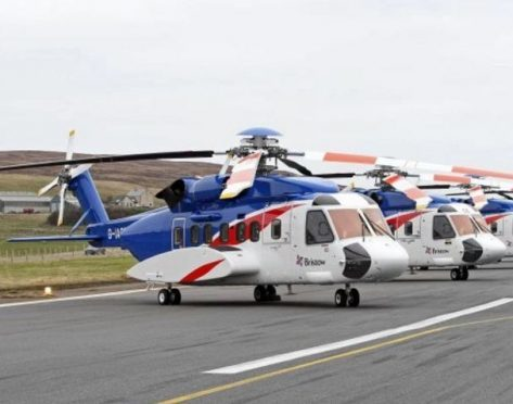 Bristow Sikorsky S92 helicopter