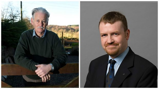 Councillors Peter Argyle (Lib Dem) and Stephen Smith (SNP)