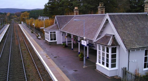 ScotRail must get listed building consent before CCTV cameras can be installed at Carrbridge station