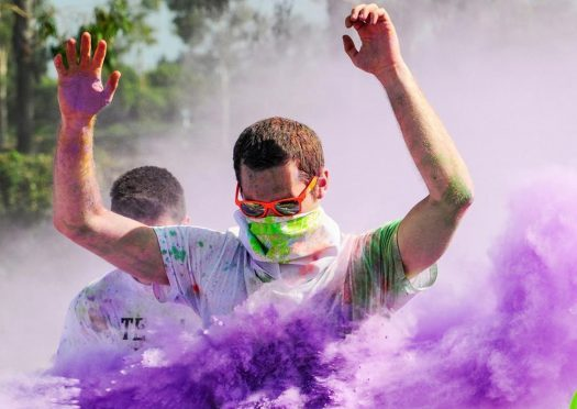 The Color Me Rad 5k returns this month