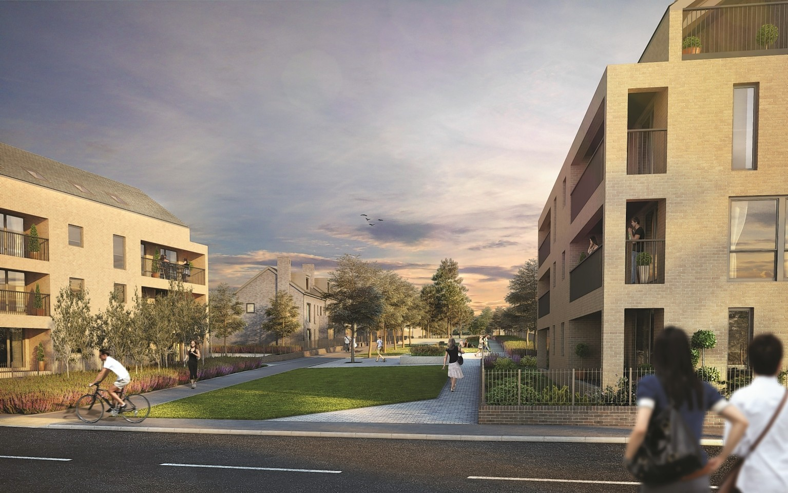 Fresh images have been released of the Counteswells development.