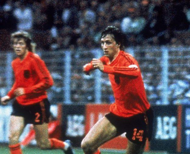 Ajax and Barcelona legend Johan Cruyff.