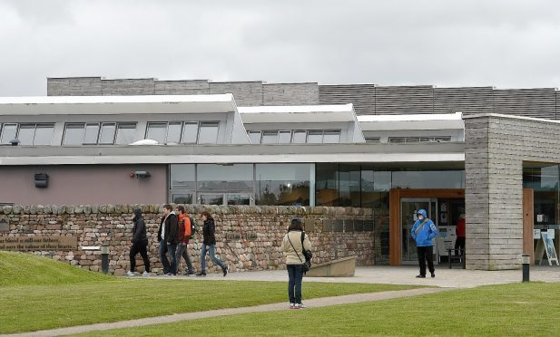 Culloden Battlefield Visitor Centre. Picture by Sandy McCook