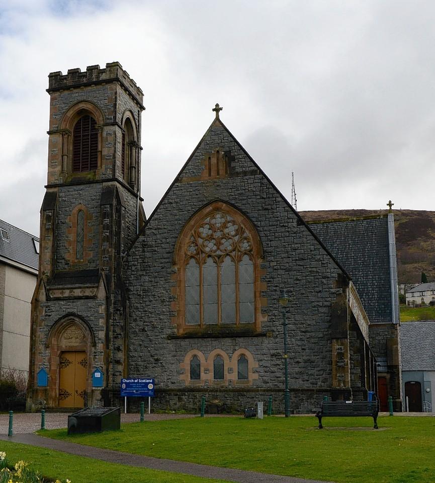 Duncansburgh MacIntosh Church in Fort William