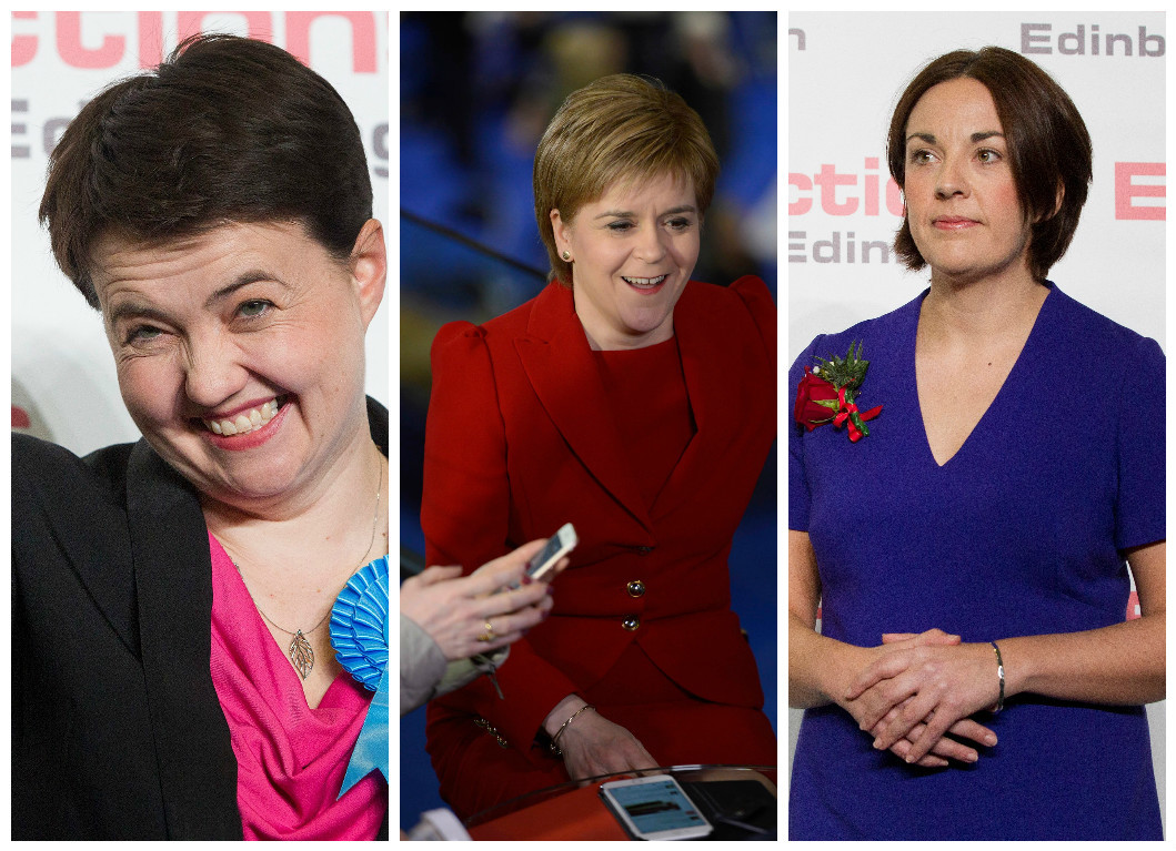 Davidson, Sturgeon and Dugdale have experienced very different nights