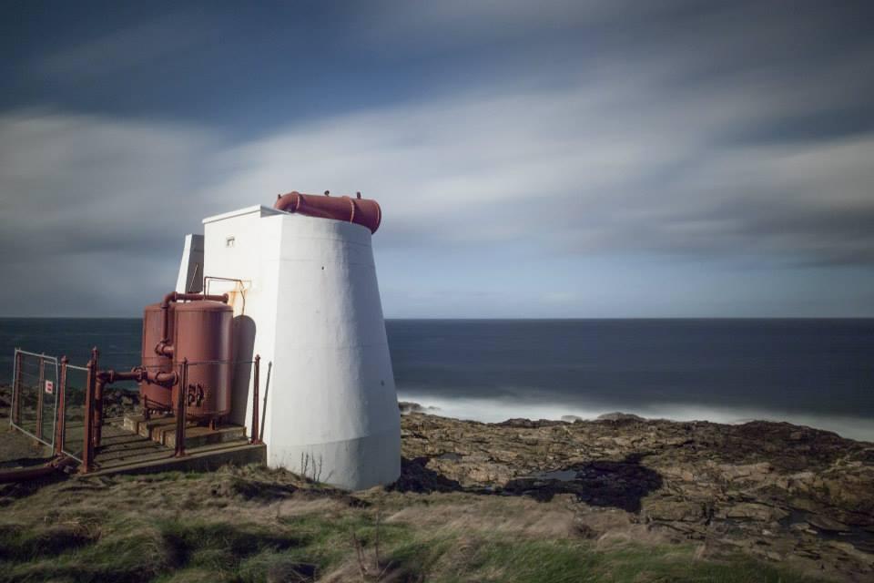 The fog horn at Kinnaird Head, Fraserburgh.
