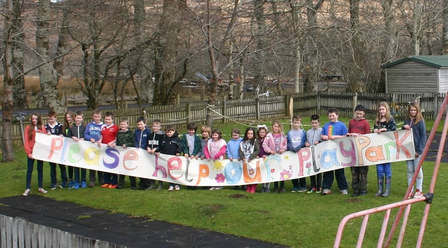 Local children are very supportive of plans for a new play park in Glenelg