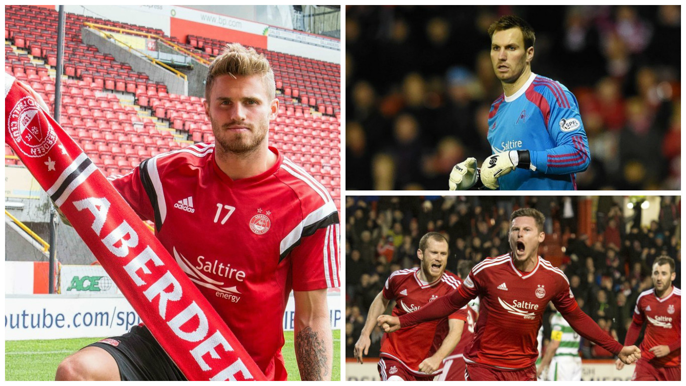 Goodwillie, Brown and Church will all move on from Pittodrie