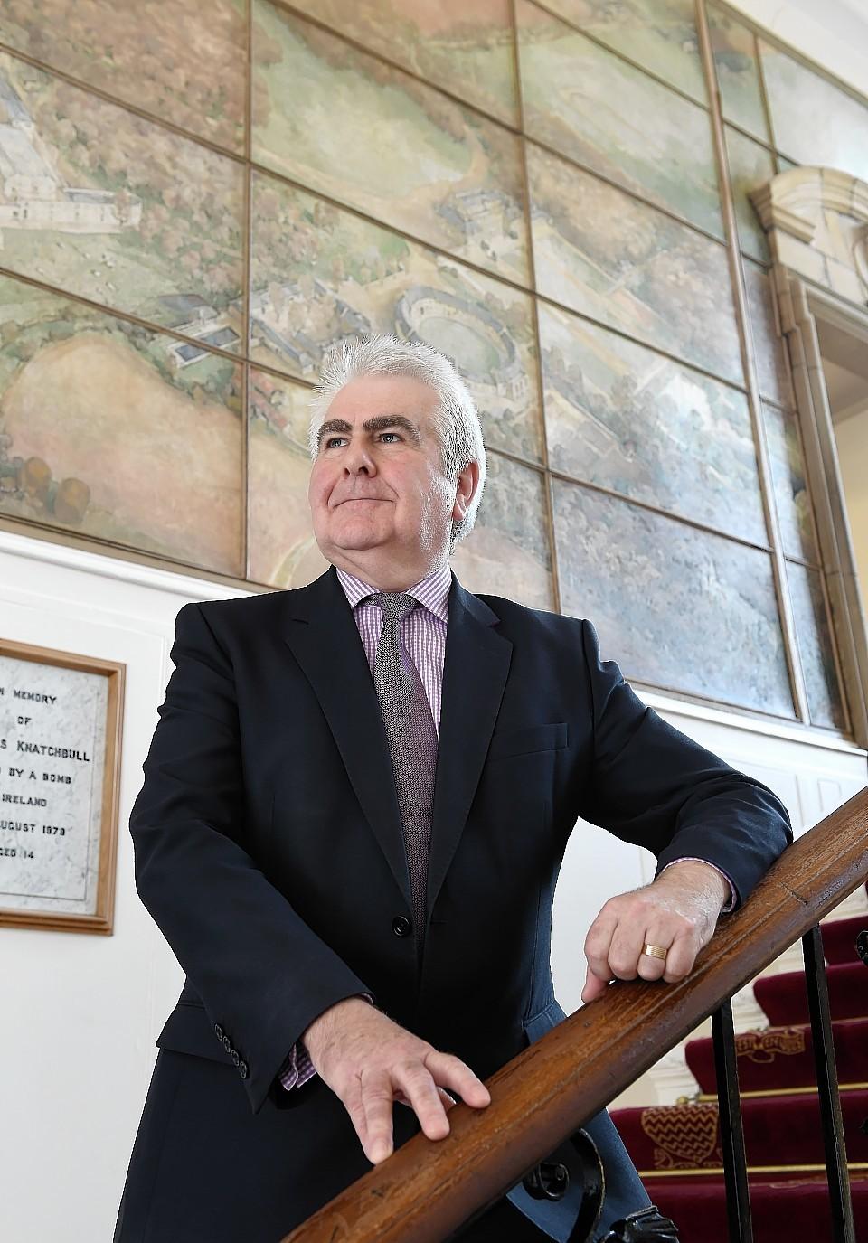 Gordonstoun School Financial Director Hugh Brown