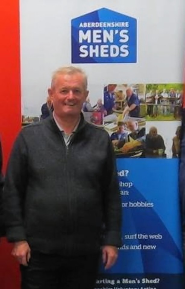Ian Murray from the Men's Shed project.