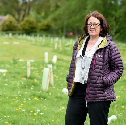 Isobel Davidson at Gordon Park yesterday