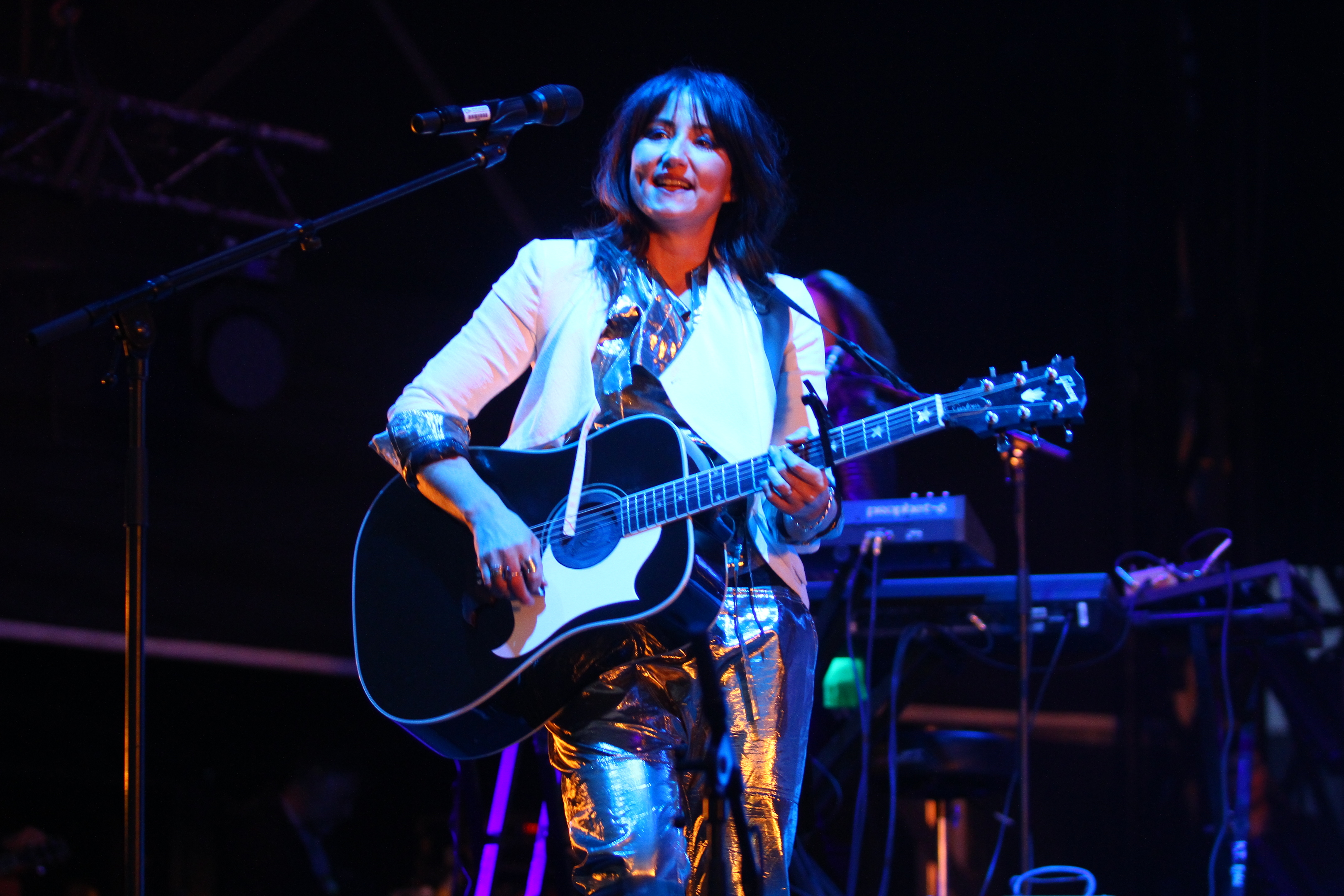 KT Tunstall is one of the patrons of the Music Ventures Trust.