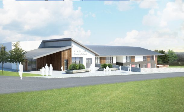 First image of how new Kinellar Primary could look