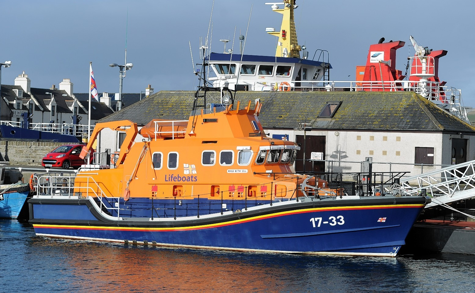 Kirkwall lifeboat was sent to assist
