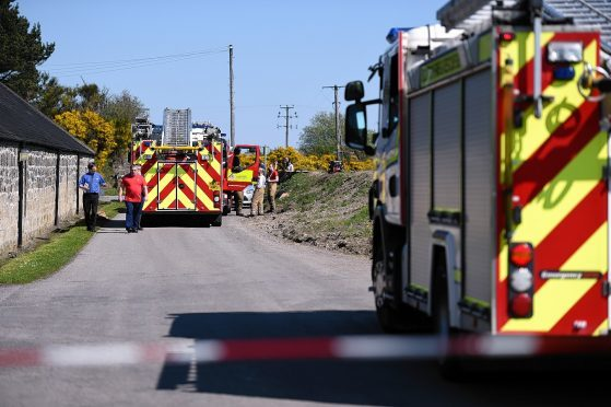 Longmorn Distillery, Fogwatt, Moray, where staff were evacuated after the chemical spill. Picture by Gordon Lennox