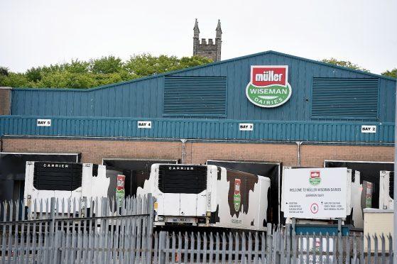 Muller base in West Tullos, Aberdeen.