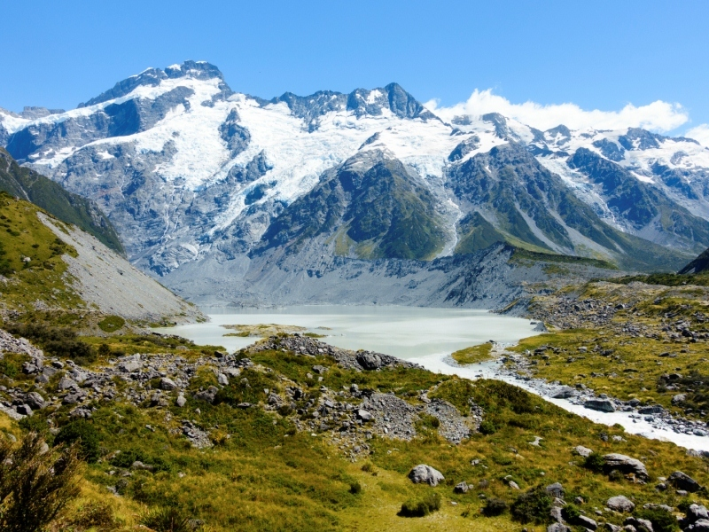 Mount Cook, New Zealand.