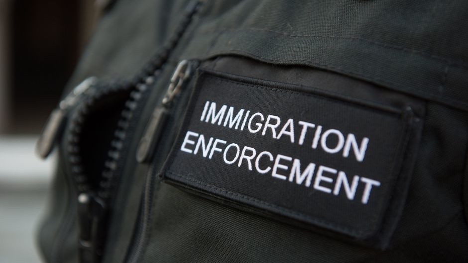 Six people have been detained following the operation on Friday June 28