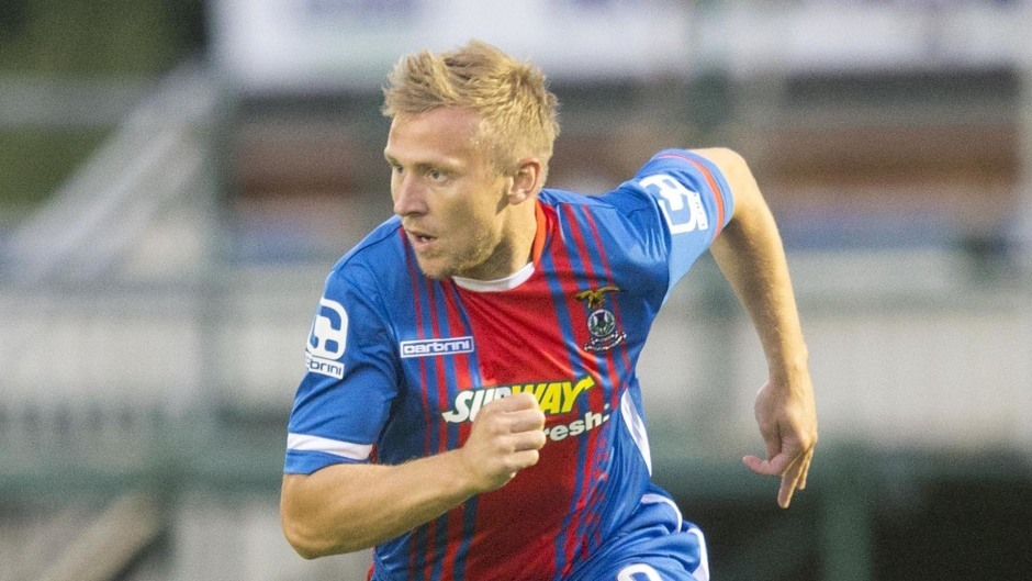 Richie Foran has been with Caley Thistle since January 2009.