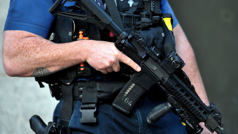 A total of 124  extra armed police will be recruited
