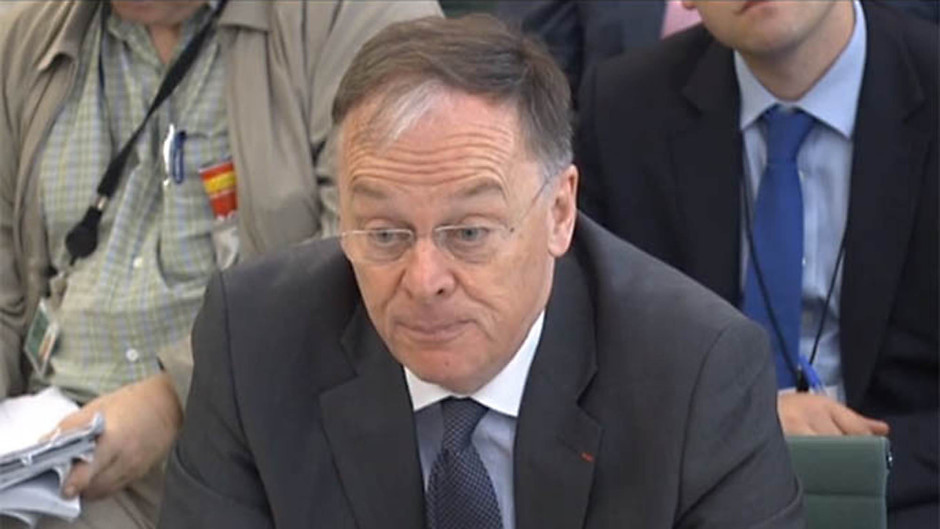 EDF chief executive Vincent de Rivaz appears before the Energy and Climate Change Committee