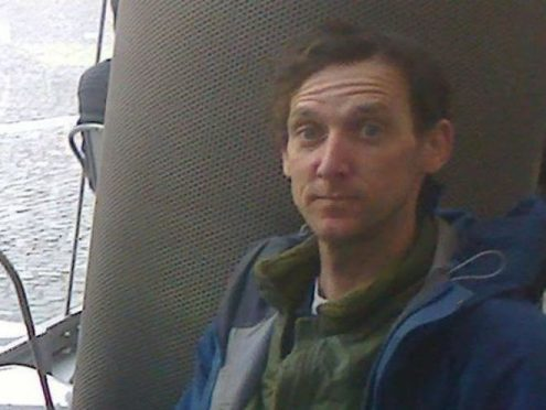 Edward Davies, 39, has been missing in the Glencoe area since May 8 (Police Scotland/PA Wire)