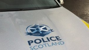 Police are at the scene of the A90 collision