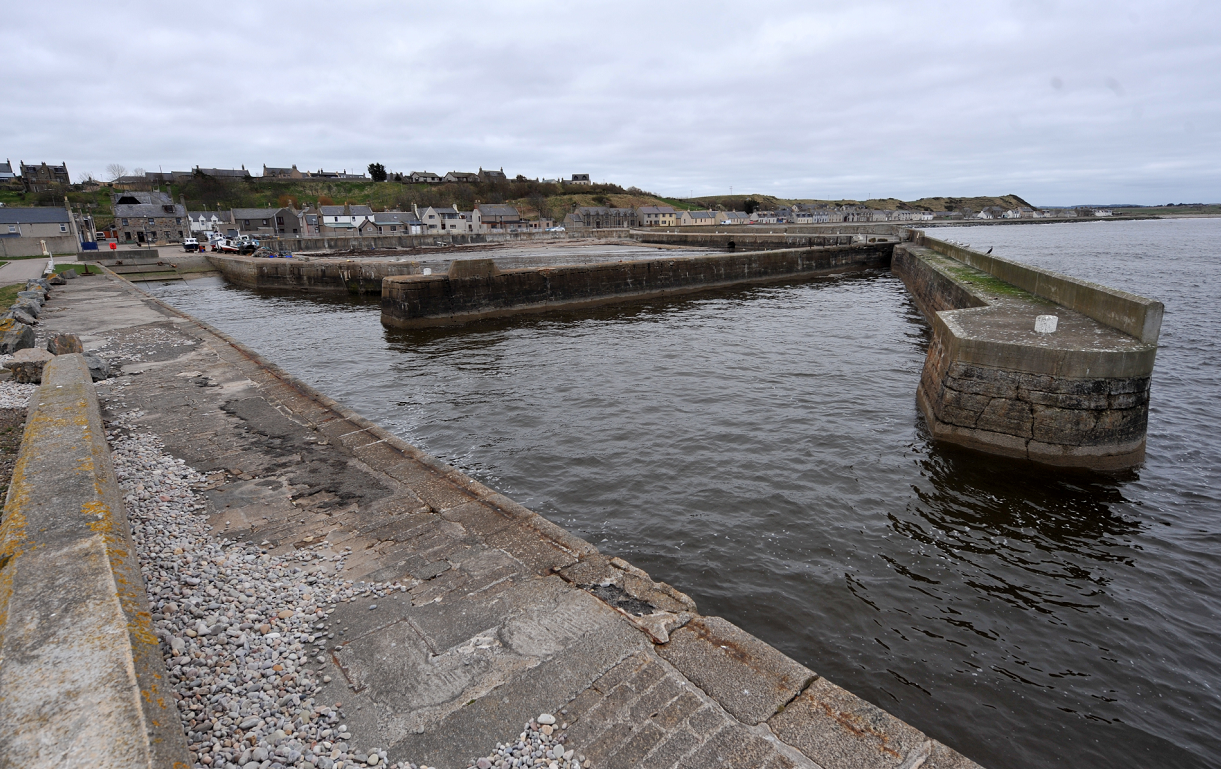 Portgordon harbour will play host to a lot of the celebrations.