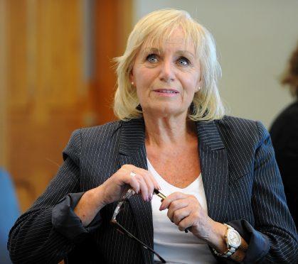 Inverness Provost Helen Carmichael.