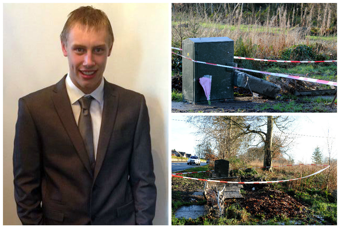 William Sangster died in the crash near Mintlaw