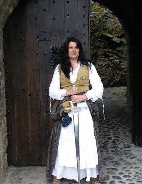 Shona MacLeod, a former guide at Eilean Donan Castle