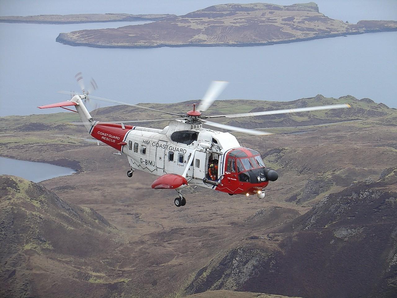 The Stornoway coastguard was called