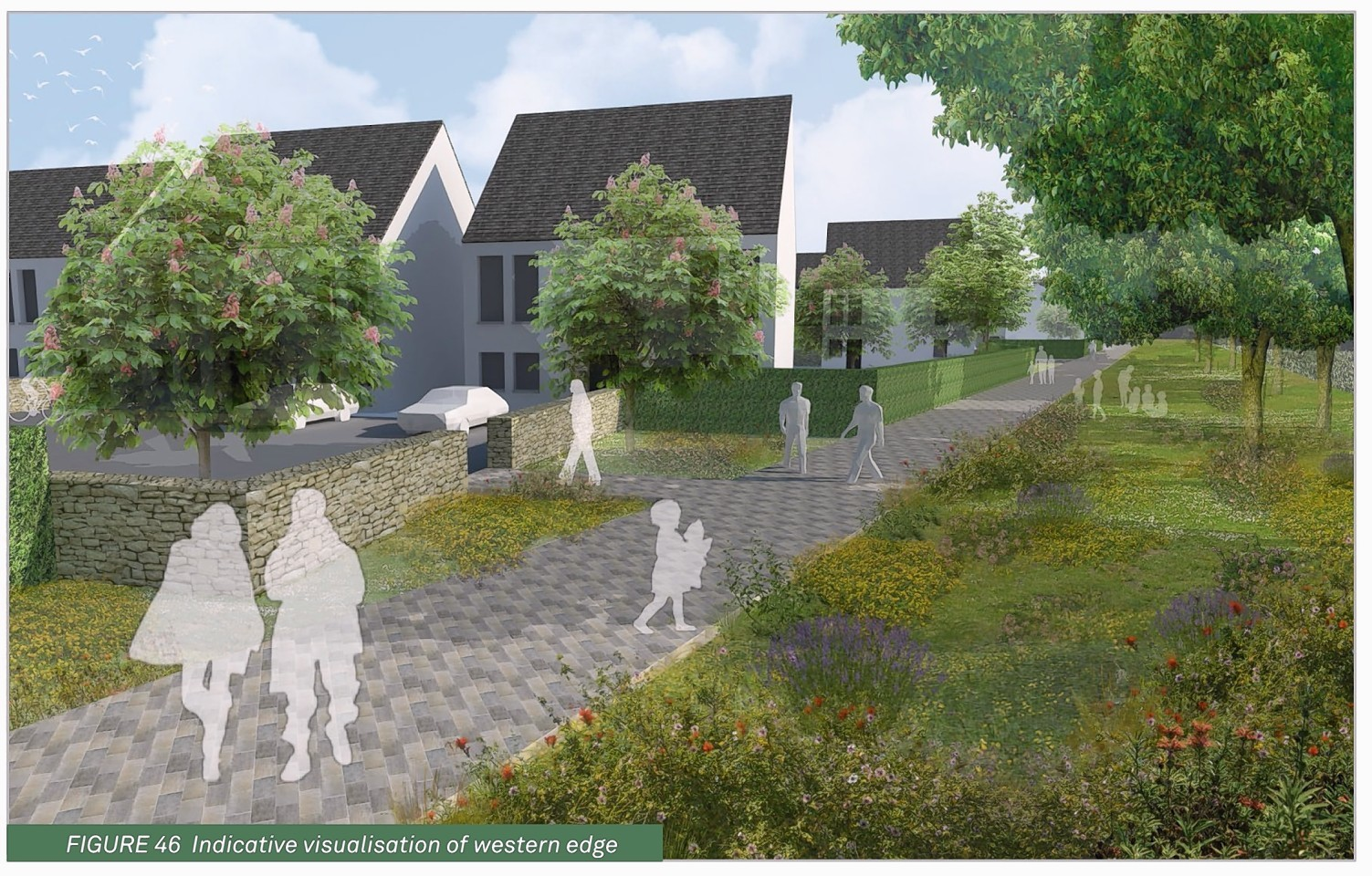 Plans show how the new town could look
