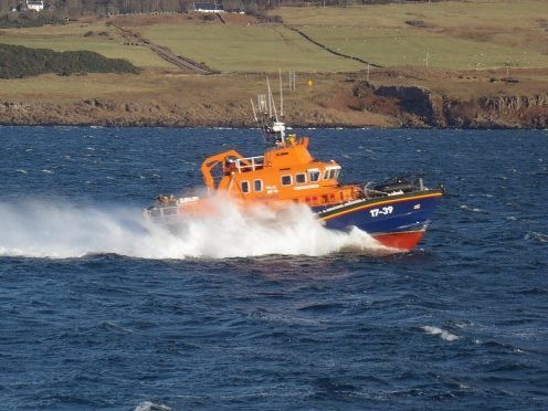 The Tobermory lifeboat