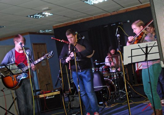 Modern trad band Wing It, from Alness