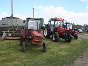 This Zetor display is just a fraction of what is planned for the Fraserburgh Rally on June 5