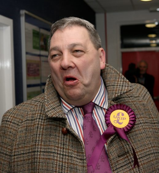 David Coburn is an MEP
